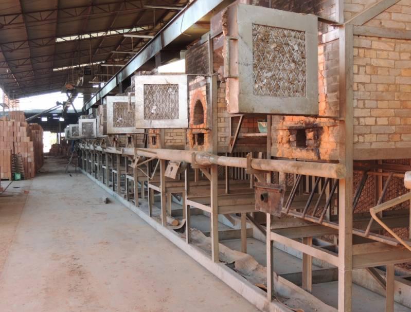 Comprar Tijolo de Cerâmica Furado Santana do Parnaíba - Tijolo de Cerâmica para Laje