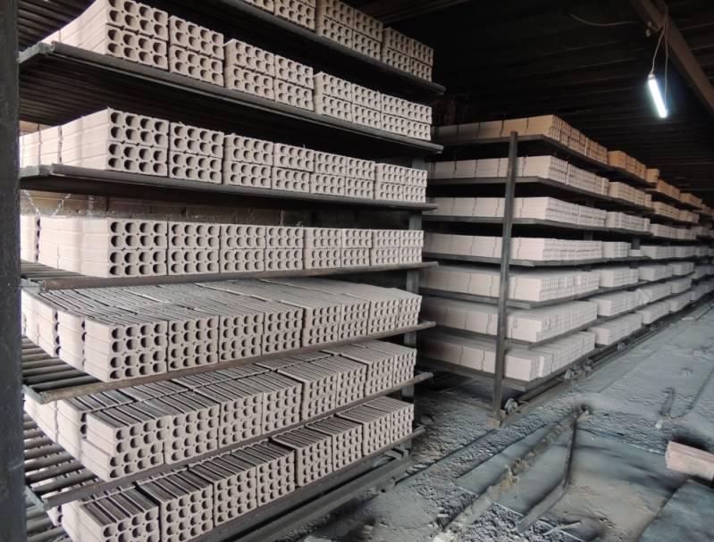 Fábrica de Tijolo Comum Preço Osasco - Fábrica de Tijolo Cerâmico