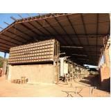 tijolo de cerâmica furado Cajamar
